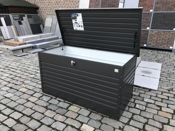 outdoor tuinmeubelen kussenboxen Biohort hobbybox