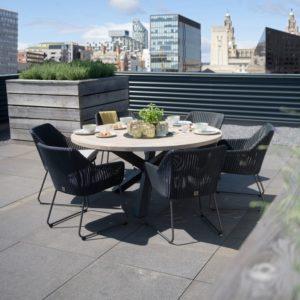 4 Seasons Outdoor Avila Dining Set