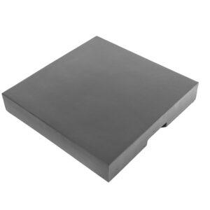 Deksel Cocoon Table Composiet Vierkant Antraciet