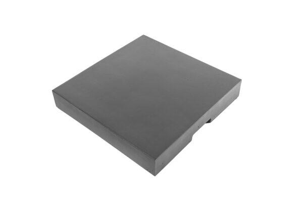 Cocoon Table Couvercle Composite Anthracite Carré
