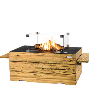 Happy Cocooning Cocoon Tables Driftwood Rechthoek Zwart