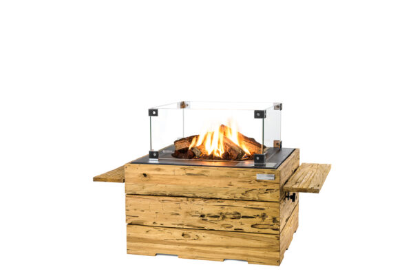 Happy cocooning cocoon table Driftwood Carré Noir