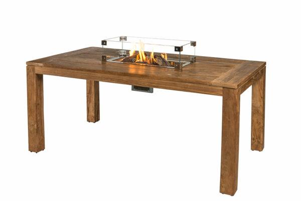 Happy Cocooning Cocoon Table Brûleur Encastrable Rectangulaire Petit