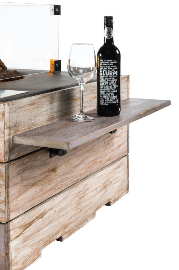Happy Cocooning Cocoon Tables en Teck Nice&Nasty Side Table