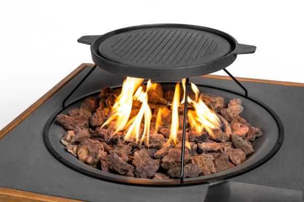 Cocoon table grillplaat