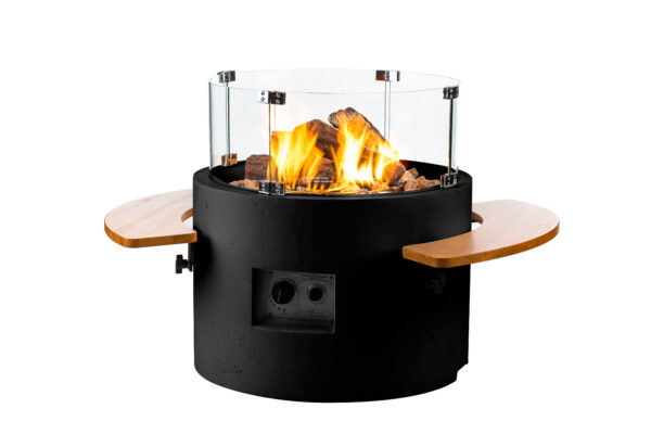Happy Cocooning Cocoon Tables Rond Noir
