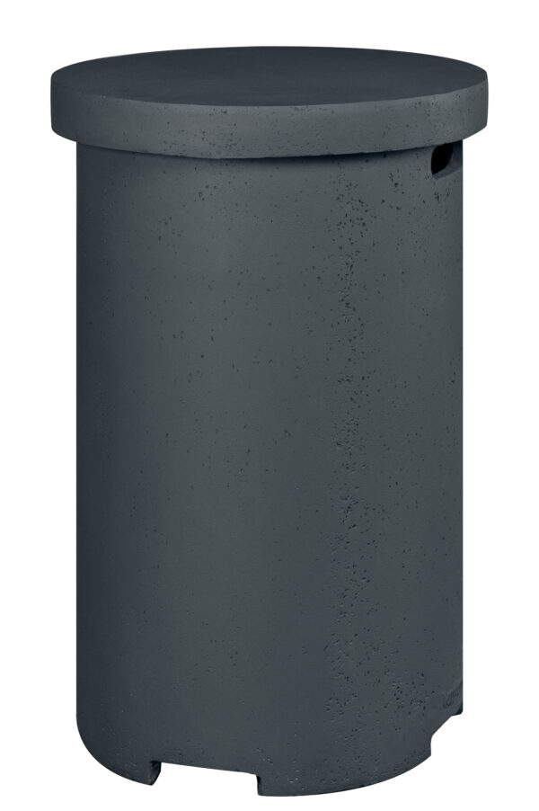 Cocoon Table Enclosure  GPL Rond Anthracite