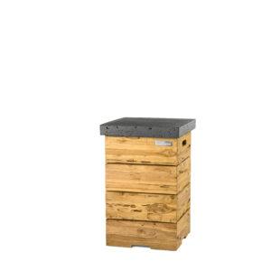 Happy Cocooning Cocoon Tables Driftwood Enclosure (bijzettafel) LPG Tank Antraciet