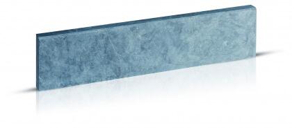 Bordures Pierre Bleue Chinoise Poncée Légèrement 1/1cm 6x25x100 cm