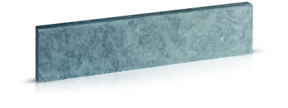 Boordstenen Chinese blauwe steen licht geschuurd 6x20x100 cm