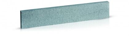 Boordstenen Chinese graniet donker grijs gevlamd en geborsteld 5x20x100 cm