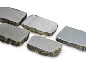 Grès platine 12x18x7-8 cm