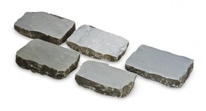 Grès platine 15x15x7-8 cm