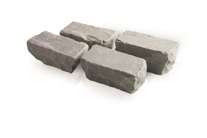 Kandla grijs 10x10x7-9 cm (140 kg/m²)