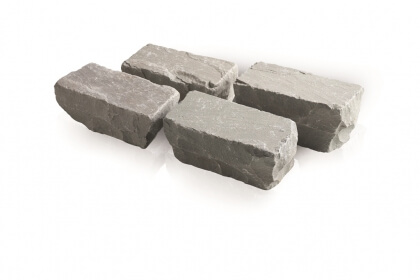 Kandla grijs 14x14x4-6 cm (100 kg/m²)