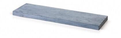 Muurafdek chinese blauwe steen grijs geschuurd