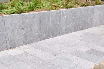 Palissade Pierre Bleue Belge Démodée 8x25x125 cm