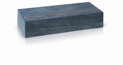 Marches Pierre Bleue Chinoise Poncée Antidérapante16x30x150 cm