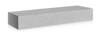 Marches Granit Gris Foncé Ciselés 16x30x100 cm
