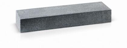 Traptreden donker grijs graniet gevlamd 16x30x100 cm