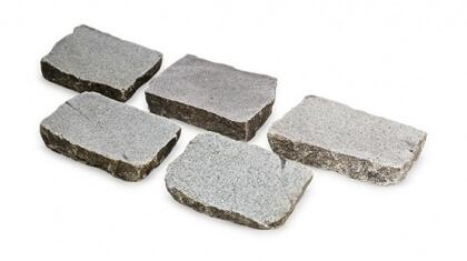 Granit Suédois platine 14x20x7-8 cm