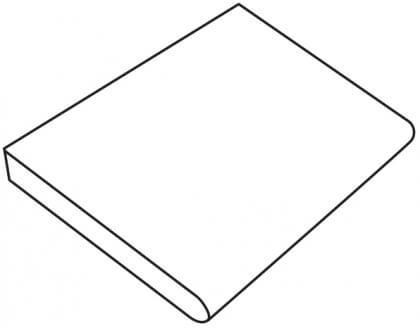 Granite Gris Foncé (Profilé C) 60x60x5/3 cm